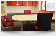 Kanceláře, recepce a ordinace