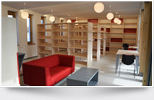 Nábytek pro knihovny